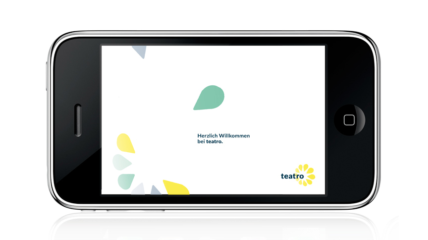 teatro, Mobile Device Screen Design